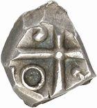 Photo numismatique  ARCHIVES VENTE 2010 -Amateur B 1 et B Chawartz 2 IBERIE- GAULE - CELTES VOLQUES TECTOSAGES (région de Toulouse)  105- Drachme au type « à la tête bouclée du Causé », série 1.