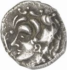 Photo numismatique  ARCHIVES VENTE 2010 -Amateur B 1 et B Chawartz 2 IBERIE- GAULE - CELTES VOLQUES TECTOSAGES (région de Toulouse)  106- (Bas-Languedoc, Hérault et Aveyron). Drachme de style « languedocien », série 1.