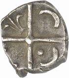 Photo numismatique  ARCHIVES VENTE 2010 -Amateur B 1 et B CHWARTZ 2 GAULE - CELTES VOLQUES TECTOSAGES (région de Toulouse)  107- Drachme de style « languedocien », série 2 à la fleur de lis.