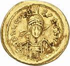 Photo numismatique  ARCHIVES VENTE 2010 -Amateur B 1 et B CHWARTZ 2 PEUPLES BARBARES Les OSTROGOTHS Epoque d'ODOACRE (476-493) 119- Solidus au nom de Léon Ier (457-474), frappé à Rome ?