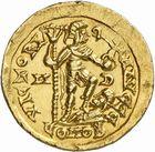 Photo numismatique  ARCHIVES VENTE 2010 -Amateur B 1 et B CHWARTZ 2 PEUPLES BARBARES SUEVES Au nom d'HONORIUS, empereur (393-423) 130-Solidus