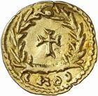 Photo numismatique  ARCHIVES VENTE 2010 -Amateur B 1 et B CHWARTZ 2 PEUPLES BARBARES SUEVES Au nom de VALENTINIEN III, empereur (423-455) 135- Tremissis.