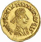 Photo numismatique  ARCHIVES VENTE 2010 -Amateur B 1 et B CHWARTZ 2 PEUPLES BARBARES SUEVES Au nom de VALENTINIEN III, empereur (423-455) 136- Tremissis.