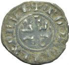 Photo numismatique  MONNAIES ROYALES FRANCAISES PHILIPPE IV LE BEL (5 octobre 1285-30 novembre 1314)  Double tournois. 1e �mission.