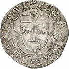 Photo numismatique  ARCHIVES VENTE 2010 -Amateur B 1 et B Chawartz 2 BARONNIALES Seigneurie de BEARN GASTON de Grailly (1436-1471) 243- Grand blanc d'argent