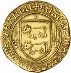 Photo numismatique  ARCHIVES VENTE 2010 -Amateur B 1 et B Chawartz 2 BARONNIALES Seigneurie de BEARN FRANCOIS PHEBUS (1479-1483) 244- Ecu d'or.
