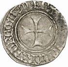 Photo numismatique  ARCHIVES VENTE 2010 -Amateur B 1 et B CHWARTZ 2 BARONNIALES Seigneurie de BEARN FRANCOIS PHEBUS (1479-1483) 246- Demi blanc d'argent.