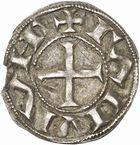 Photo numismatique  ARCHIVES VENTE 2010 -Amateur B 1 et B CHWARTZ 2 BARONNIALES Vicomté d'ALBI  247- Denier du XIe siècle au nom de Raymond