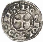 Photo numismatique  ARCHIVES VENTE 2010 -Amateur B 1 et B Chawartz 2 BARONNIALES Comté de TOULOUSE PONS (1037-1060) 248- Denier.