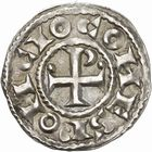 Photo numismatique  ARCHIVES VENTE 2010 -Amateur B 1 et B Chawartz 2 BARONNIALES Comté de TOULOUSE PONS et le roi HENRI Ier (1037-1060) 249- Denier.