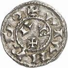 Photo numismatique  ARCHIVES VENTE 2010 -Amateur B 1 et B CHWARTZ 2 BARONNIALES Comté de TOULOUSE PONS et le roi HENRI Ier (1037-1060) 249- Denier.
