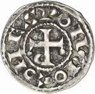 Photo numismatique  ARCHIVES VENTE 2010 -Amateur B 1 et B Chawartz 2 BARONNIALES Comté de TOULOUSE PONS et le roi HENRI Ier (1037-1060) 250- Denier