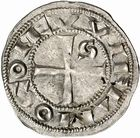 Photo numismatique  ARCHIVES VENTE 2010 -Amateur B 1 et B CHWARTZ 2 BARONNIALES Comté de TOULOUSE GUILLAUME IV (1060-1088) 251- Denier.