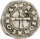Photo numismatique  ARCHIVES VENTE 2010 -Amateur B 1 et B CHWARTZ 2 BARONNIALES Comté de TOULOUSE RAYMOND V à RAYMOND VII (1148-1194-1222-1249) 259- Denier.
