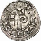 Photo numismatique  ARCHIVES VENTE 2010 -Amateur B 1 et B Chawartz 2 BARONNIALES Comté de TOULOUSE RAYMOND V à RAYMOND VII (1148-1194-1222-1249) 259- Denier.
