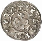 Photo numismatique  ARCHIVES VENTE 2010 -Amateur B 1 et B Chawartz 2 BARONNIALES Comté de CARCASSONNE (Xe - XIe siècles) 262- Denier.