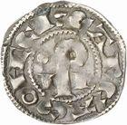 Photo numismatique  ARCHIVES VENTE 2010 -Amateur B 1 et B CHWARTZ 2 BARONNIALES Vicomté de CARCASSONNE RAYMOND ROGER TRENCAVEL (1194-1309) 264-  Denier.