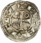 Photo numismatique  ARCHIVES VENTE 2010 -Amateur B 1 et B Chawartz 2 BARONNIALES Vicomté de BÉZIERS ROGER II (1167-1194) 266- Denier.