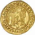 Photo numismatique  ARCHIVES VENTE 2010 -Amateur B 1 et B CHWARTZ 2 BARONNIALES Comté de PROVENCE CHARLES Ier D'ANJOU (1246-1285) 268- Salut d'or, frappé à partir de 1278 à Naples.