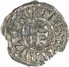Photo numismatique  ARCHIVES VENTE 2010 -Amateur B 1 et B CHWARTZ 2 BARONNIALES Abbaye de CLUNY (XIIe siècle) 271- Denier.