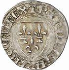 Photo numismatique  ARCHIVES VENTE 2010 -Amateur B 1 et B CHWARTZ 2 ROYALES FRANCAISES CHARLES VI (16 septembre 1380-21 octobre 1422)  278- Blanc dit « guénar » (1ère émission du 11 mars 1585), Toulouse.
