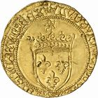 Photo numismatique  ARCHIVES VENTE 2010 -Amateur B 1 et B CHWARTZ 2 ROYALES FRANCAISES LOUIS XI (22 juillet 1461-30 août 1483)  279- Ecu d'or au soleil (2 novembre 1475), Toulouse.