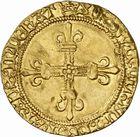 Photo numismatique  ARCHIVES VENTE 2010 -Amateur B 1 et B Chawartz 2 ROYALES FRANCAISES LOUIS XI (22 juillet 1461-30 août 1483)  279- Ecu d'or au soleil (2 novembre 1475), Toulouse.