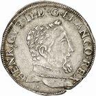 Photo numismatique  ARCHIVES VENTE 2010 -Amateur B 1 et B Chawartz 2 ROYALES FRANCAISES HENRI II (31 mars 1547-10 juillet 1559)  284- Teston du 2ème type, 1559 Toulouse.