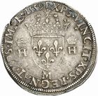 Photo numismatique  ARCHIVES VENTE 2010 -Amateur B 1 et B CHWARTZ 2 ROYALES FRANCAISES HENRI II (31 mars 1547-10 juillet 1559)  284- Teston du 2ème type, 1559 Toulouse.