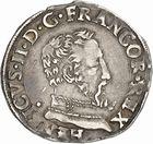 Photo numismatique  ARCHIVES VENTE 2010 -Amateur B 1 et B Chawartz 2 ROYALES FRANCAISES HENRI II (31 mars 1547-10 juillet 1559)  285- Demi-teston du 2ème type, 1556 Toulouse.