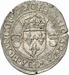 Photo numismatique  ARCHIVES VENTE 2010 -Amateur B 1 et B Chawartz 2 ROYALES FRANCAISES HENRI II (31 mars 1547-10 juillet 1559)  287- Douzain aux croissants, 1550 Toulouse.
