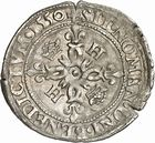 Photo numismatique  ARCHIVES VENTE 2010 -Amateur B 1 et B CHWARTZ 2 ROYALES FRANCAISES HENRI II (31 mars 1547-10 juillet 1559)  287- Douzain aux croissants, 1550 Toulouse.
