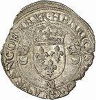 Photo numismatique  ARCHIVES VENTE 2010 -Amateur B 1 et B CHWARTZ 2 ROYALES FRANCAISES HENRI II (31 mars 1547-10 juillet 1559)  288- Douzain aux croissants, 1551 Toulouse.