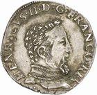 Photo numismatique  ARCHIVES VENTE 2010 -Amateur B 1 et B Chawartz 2 ROYALES FRANCAISES FRANCOIS II (10 juillet 1559-5 décembre 1560)  290- Teston du 2ème type, 1560 Toulouse