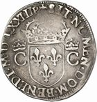 Photo numismatique  ARCHIVES VENTE 2010 -Amateur B 1 et B CHWARTZ 2 ROYALES FRANCAISES CHARLES IX (5 décembre 1560-30 mai 1574)  293- Teston du 1er type, 1573 Toulouse.