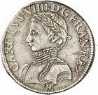 Photo numismatique  ARCHIVES VENTE 2010 -Amateur B 1 et B Chawartz 2 ROYALES FRANCAISES CHARLES IX (5 décembre 1560-30 mai 1574)  294- Demi-teston du 1er type, 1565 Toulouse.