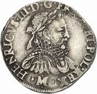 Photo numismatique  ARCHIVES VENTE 2010 -Amateur B 1 et B CHWARTZ 2 ROYALES FRANCAISES HENRI III (30 mai 1574–2 août 1589)  295- Teston du 2ème type, 1576 Toulouse.