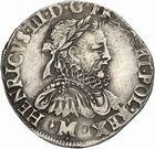 Photo numismatique  ARCHIVES VENTE 2010 -Amateur B 1 et B Chawartz 2 ROYALES FRANCAISES HENRI III (30 mai 1574–2 août 1589)  295- Teston du 2ème type, 1576 Toulouse.