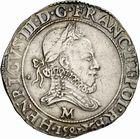 Photo numismatique  ARCHIVES VENTE 2010 -Amateur B 1 et B Chawartz 2 ROYALES FRANCAISES HENRI III (30 mai 1574–2 août 1589)  296- Franc, 1581 Toulouse.