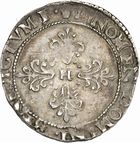 Photo numismatique  ARCHIVES VENTE 2010 -Amateur B 1 et B CHWARTZ 2 ROYALES FRANCAISES LA LIGUE au nom d'HENRI III (1589-1596)  299- Demi-franc, 1592 Toulouse.