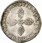 Photo numismatique  ARCHIVES VENTE 2010 -Amateur B 1 et B CHWARTZ 2 ROYALES FRANCAISES HENRI IV (2 août 1589-14 mai 1610)  300- Demi-franc, 1603 Toulouse.