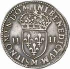 Photo numismatique  ARCHIVES VENTE 2010 -Amateur B 1 et B Chawartz 2 ROYALES FRANCAISES LOUIS XIII (16 mai 1610-14 mai 1643)  301- Quart d'écu, 1643 Toulouse.