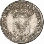 Photo numismatique  ARCHIVES VENTE 2010 -Amateur B 1 et B CHWARTZ 2 ROYALES FRANCAISES LOUIS XIII (16 mai 1610-14 mai 1643)  302- Quart d'écu au buste drapé, 1642 Paris.