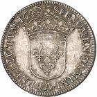Photo numismatique  ARCHIVES VENTE 2010 -Amateur B 1 et B Chawartz 2 ROYALES FRANCAISES LOUIS XIII (16 mai 1610-14 mai 1643)  302- Quart d'écu au buste drapé, 1642 Paris.
