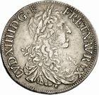 Photo numismatique  ARCHIVES VENTE 2010 -Amateur B 1 et B Chawartz 2 ROYALES FRANCAISES LOUIS XIV (14 mai 1643-1er septembre 1715)  303- Demi-écu au buste juvénile du 1er type, 1667 Toulouse.
