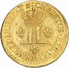 Photo numismatique  ARCHIVES VENTE 2010 -Amateur B 1 et B CHWARTZ 2 ROYALES FRANCAISES LOUIS XV (1er septembre 1715-10 mai 1774)  307- Louis d'or aux deux L, 1723 Toulouse.
