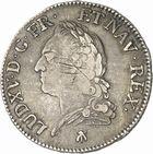 Photo numismatique  ARCHIVES VENTE 2010 -Amateur B 1 et B Chawartz 2 ROYALES FRANCAISES LOUIS XV (1er septembre 1715-10 mai 1774)  312- Ecu dit « à la vieille tête », 1773 Toulouse.