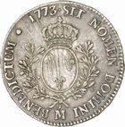 Photo numismatique  ARCHIVES VENTE 2010 -Amateur B 1 et B CHWARTZ 2 ROYALES FRANCAISES LOUIS XV (1er septembre 1715-10 mai 1774)  312- Ecu dit « à la vieille tête », 1773 Toulouse.