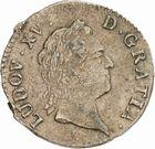 Photo numismatique  ARCHIVES VENTE 2010 -Amateur B 1 et B Chawartz 2 ROYALES FRANCAISES LOUIS XV (1er septembre 1715-10 mai 1774)  313- Sol dit « à la vieille tête », 1770 Toulouse.