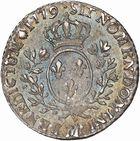 Photo numismatique  ARCHIVES VENTE 2010 -Amateur B 1 et B Chawartz 2 ROYALES FRANCAISES LOUIS XVI (10 mai 1774–21 janvier 1793)  316- Dizième d'écu aux rameaux d'olivier, 1779 Toulouse.